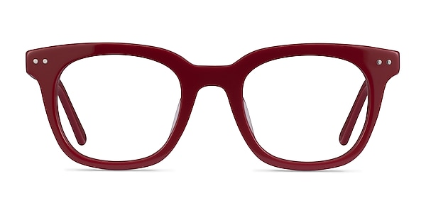 Romy Burgundy Acetate Eyeglass Frames
