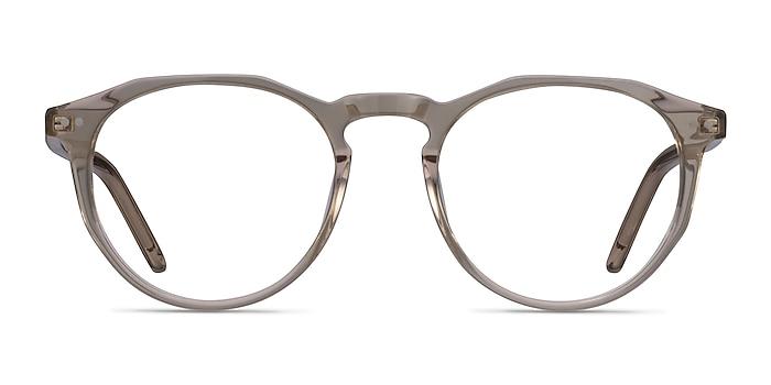 Planete Champagne Acetate Eyeglass Frames from EyeBuyDirect