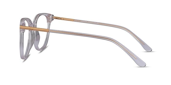 Jasmine Clear Acetate Eyeglass Frames from EyeBuyDirect