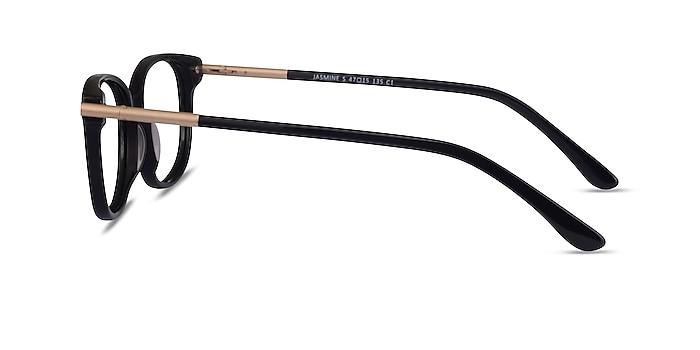 Jasmine Noir Acétate Montures de lunettes de vue d'EyeBuyDirect