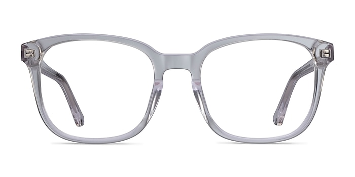 Tower Clear Acetate Eyeglass Frames from EyeBuyDirect
