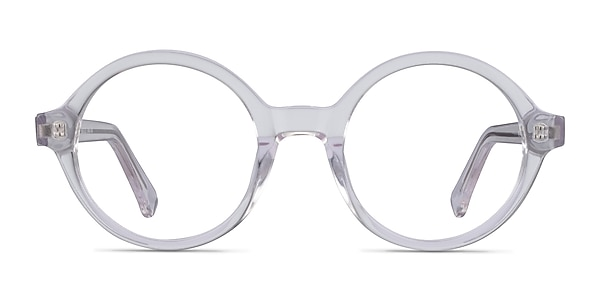 Groove Clear Acetate Eyeglass Frames