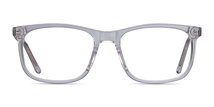 Ballast Clear Acetate Eyeglass Frames from EyeBuyDirect
