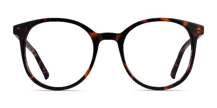 Noun Pink Tortoise Acétate Montures de lunettes de vue d'EyeBuyDirect