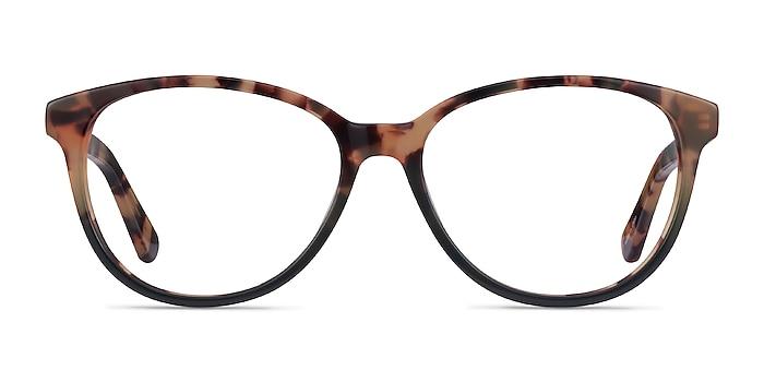 Hepburn Tortoise Green Acétate Montures de lunettes de vue d'EyeBuyDirect