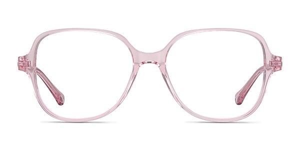Precious Clear Pink Acetate Eyeglass Frames