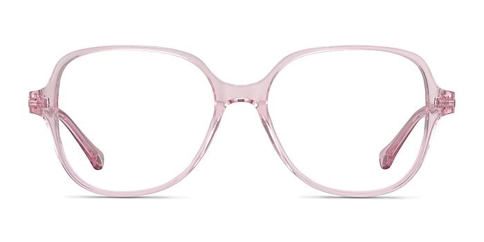 Precious Clear Pink Acetate Eyeglass Frames from EyeBuyDirect