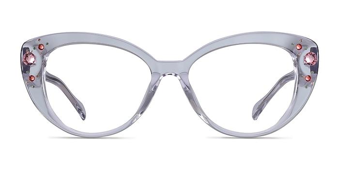 Diamond Clear Acetate Eyeglass Frames from EyeBuyDirect
