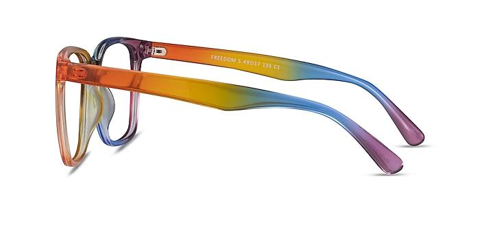 Freedom Rainbow Plastique Montures de lunettes de vue d'EyeBuyDirect