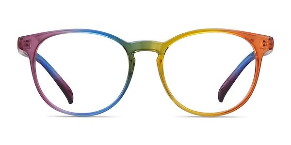 Rainbow Rainbow Plastic Eyeglass Frames