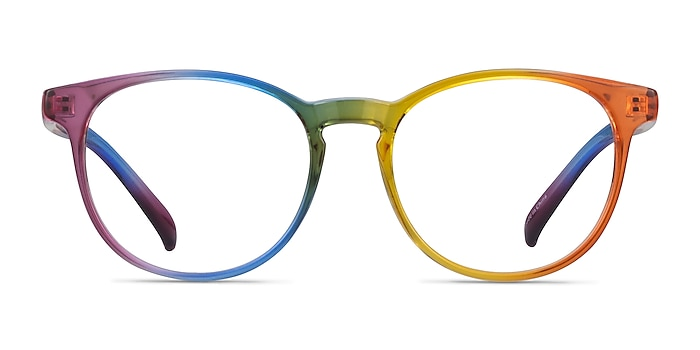 Rainbow Rainbow Plastic Eyeglass Frames from EyeBuyDirect