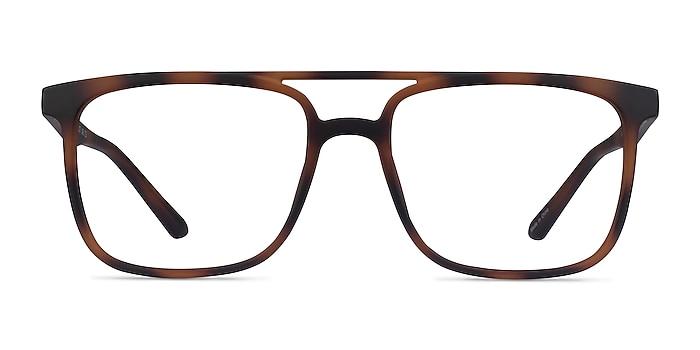 Between Matte Tortoise Plastique Montures de lunettes de vue d'EyeBuyDirect