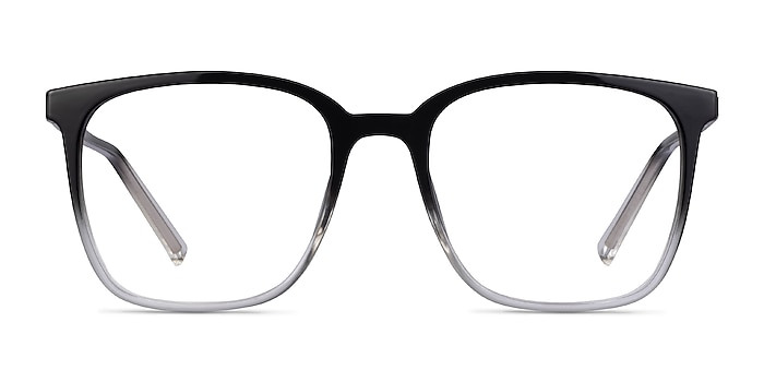House Gradient Black Plastic Eyeglass Frames from EyeBuyDirect