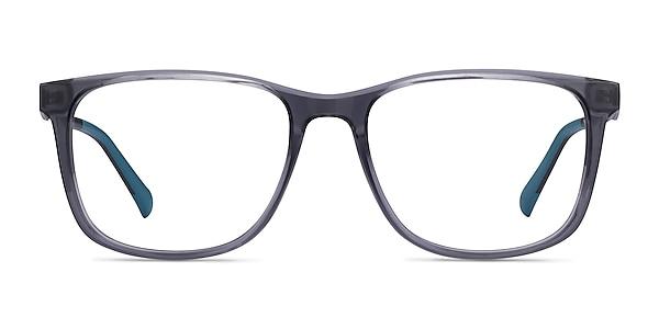 Freeze Clear Gray Plastique Montures de lunettes de vue