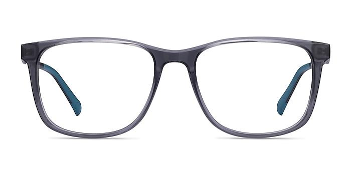 Freeze Clear Gray Plastique Montures de lunettes de vue d'EyeBuyDirect
