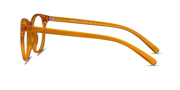 Rainbow Clear Orange Plastique Montures de lunettes de vue d'EyeBuyDirect