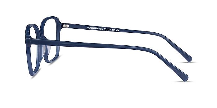 Nonchalance Bleu Acétate Montures de lunettes de vue d'EyeBuyDirect