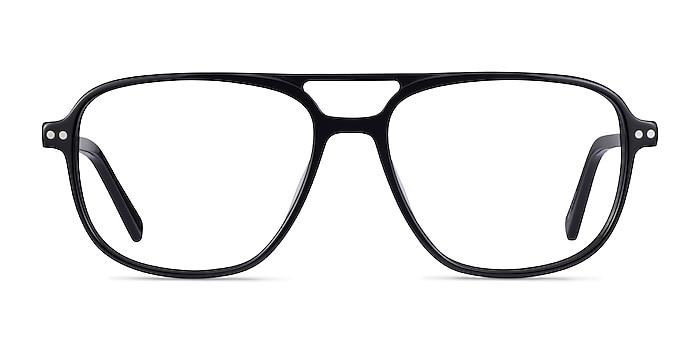 Spirit Noir Acétate Montures de lunettes de vue d'EyeBuyDirect