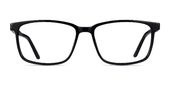 Shift Black Acetate Eyeglass Frames from EyeBuyDirect