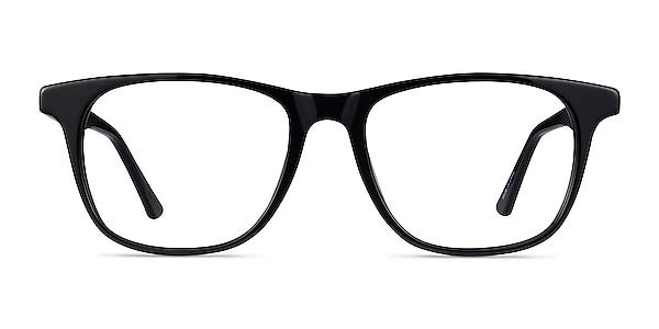 Easy Black Acetate Eyeglass Frames