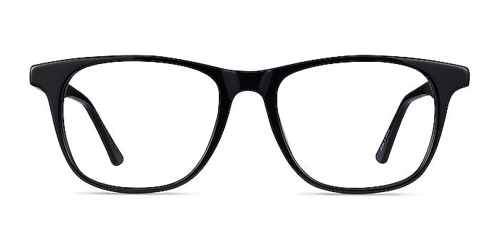 Easy Noir Acétate Montures de lunettes de vue d'EyeBuyDirect