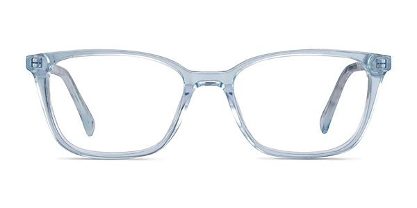 Cheesecake Clear Blue Acétate Montures de lunettes de vue