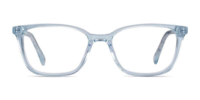 Cheesecake Clear Blue Acétate Montures de lunettes de vue d'EyeBuyDirect