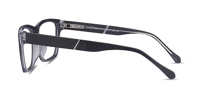 Shuffle Gris Acétate Montures de lunettes de vue d'EyeBuyDirect