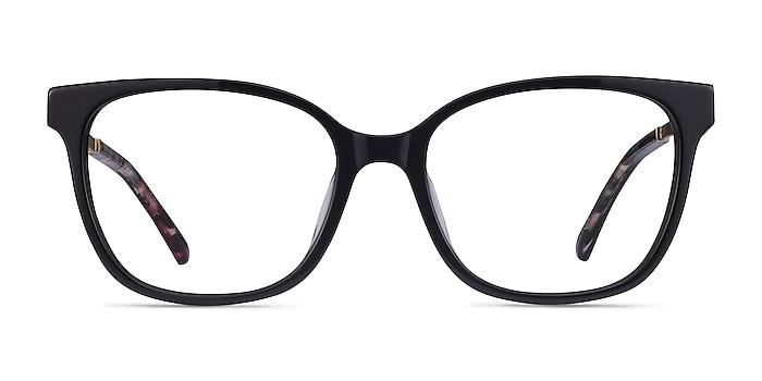 Miracle Black Gold Acétate Montures de lunettes de vue d'EyeBuyDirect