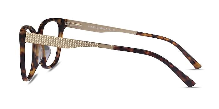 Miracle Tortoise  Gold Acétate Montures de lunettes de vue d'EyeBuyDirect