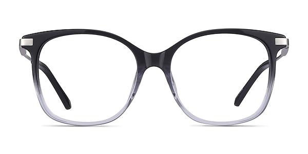Celestial Black Clear Acetate Eyeglass Frames