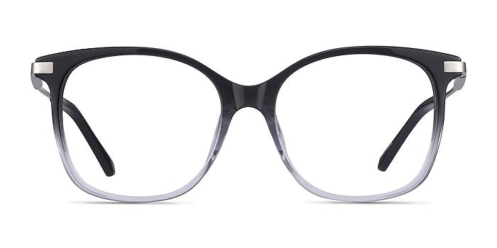 Celestial Black Clear Acetate Eyeglass Frames from EyeBuyDirect