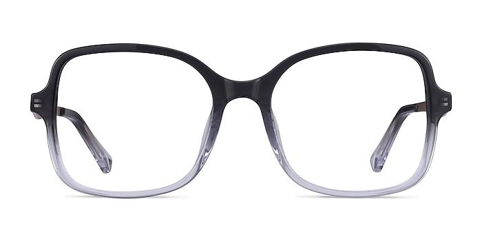 Clematis Black Clear Acétate Montures de lunettes de vue d'EyeBuyDirect