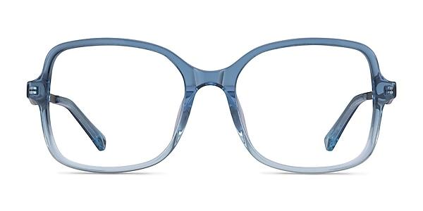 Clematis Clear Blue Acétate Montures de lunettes de vue
