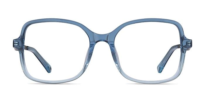 Clematis Clear Blue Acétate Montures de lunettes de vue d'EyeBuyDirect