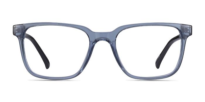 Boat Clear Blue Plastique Montures de lunettes de vue d'EyeBuyDirect