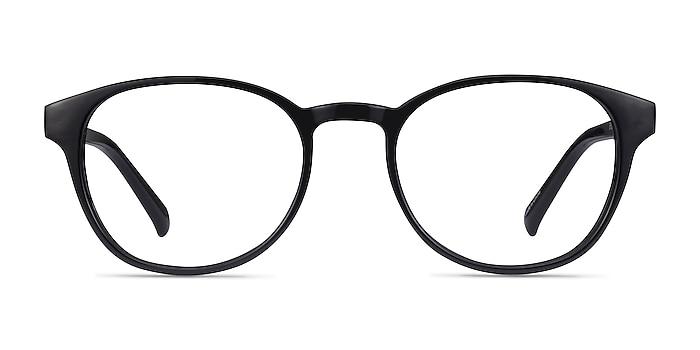 Cool Black Plastic Eyeglass Frames from EyeBuyDirect