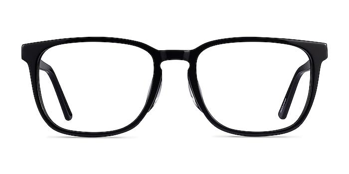 Radio Black Acetate Eyeglass Frames from EyeBuyDirect