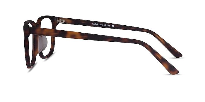 Radio Matte Tortoise Acétate Montures de lunettes de vue d'EyeBuyDirect