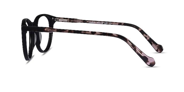 Amaze Black Tortoise Acetate Eyeglass Frames from EyeBuyDirect