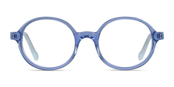 Confetti Clear Blue Acétate Montures de lunettes de vue d'EyeBuyDirect