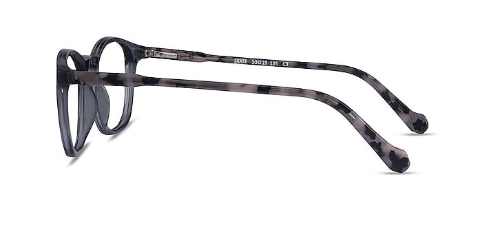 Skate Clear Gray Tortoise Acétate Montures de lunettes de vue d'EyeBuyDirect