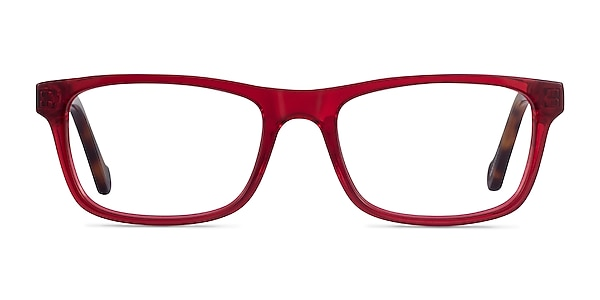 Scuba Red Tortoise Acetate Eyeglass Frames