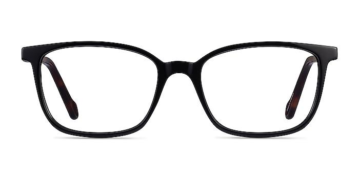 Travel Black Tortoise Acétate Montures de lunettes de vue d'EyeBuyDirect