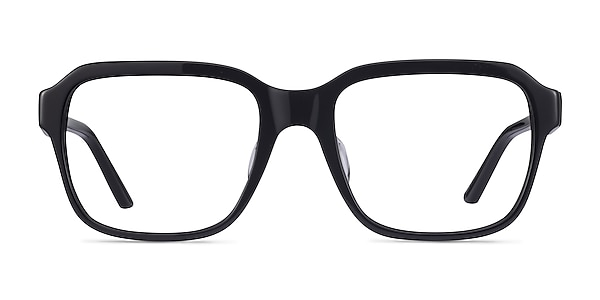 Neat Black Acetate Eyeglass Frames