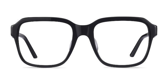 Neat Black Acetate Eyeglass Frames from EyeBuyDirect
