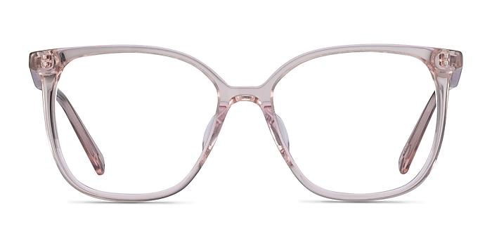 Latte Clear Beige Acetate Eyeglass Frames from EyeBuyDirect