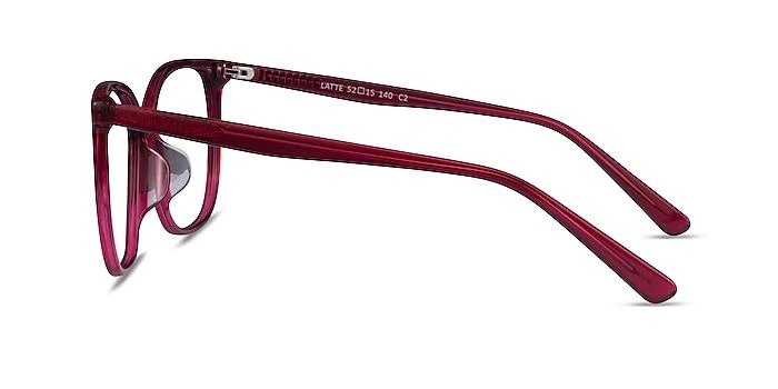 Latte Raspberry Acétate Montures de lunettes de vue d'EyeBuyDirect
