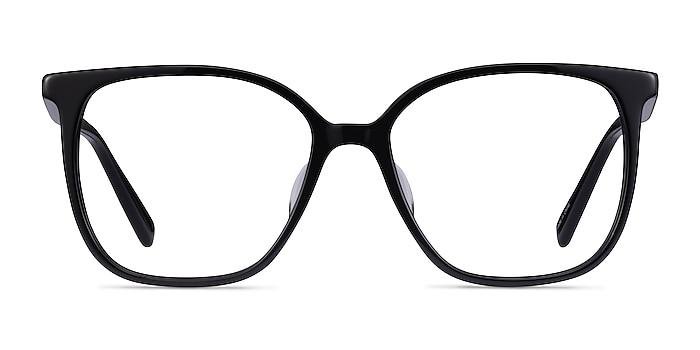 Latte Noir Acétate Montures de lunettes de vue d'EyeBuyDirect