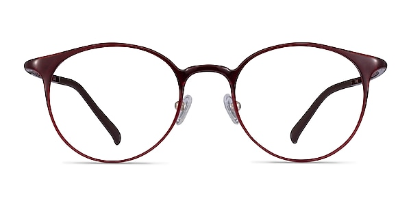 Solace Red Plastic Eyeglass Frames